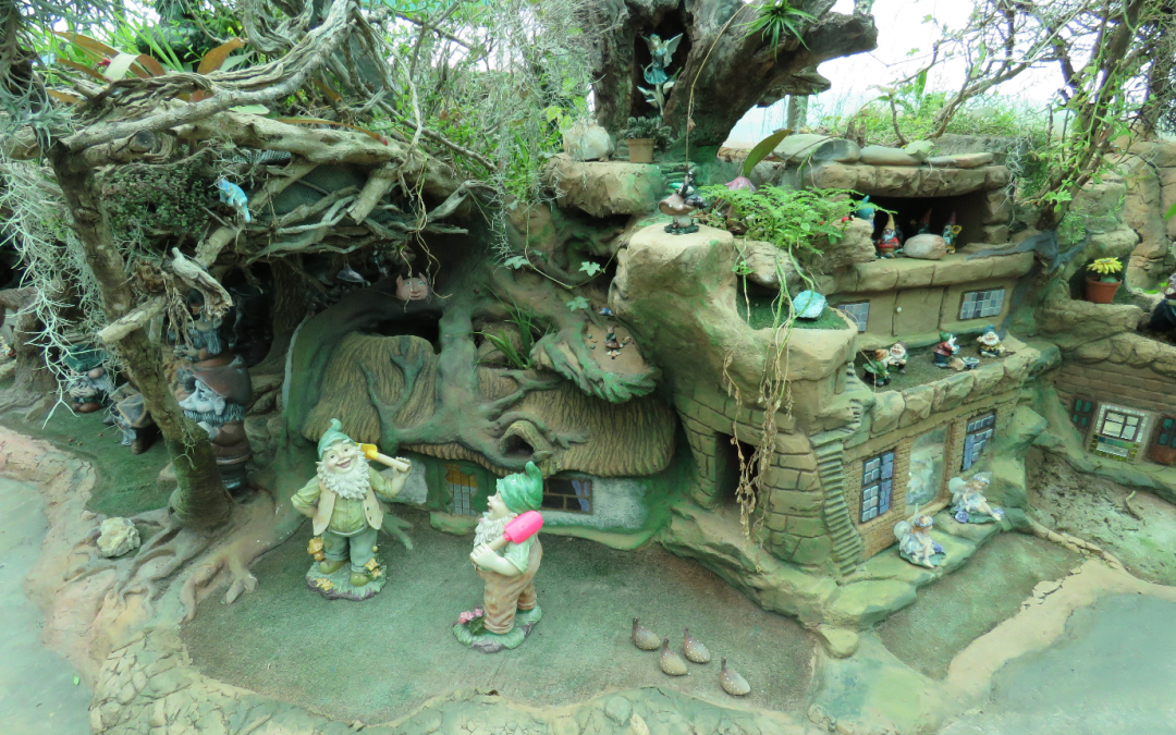 The Pixie and Fairy Village, on the West coast in Jacobs Bay